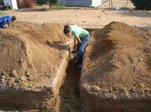 Ленточный фундамент на глине