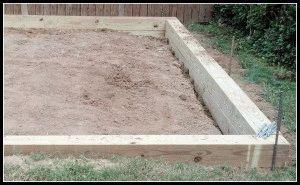 Фундамент из древесины