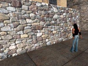 Каменный фундамент дома
