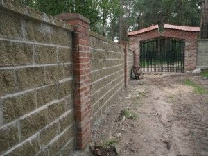 Забор готовый
