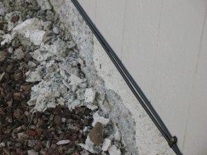 Выщелачивание бетонной составляющей