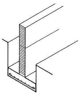 Высота ленточного фундамента