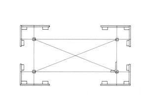 Разметка участка на бумаге