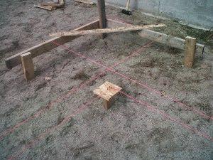 Разметка при строительстве