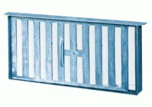 Решётка-затворка для вентиляционного окна
