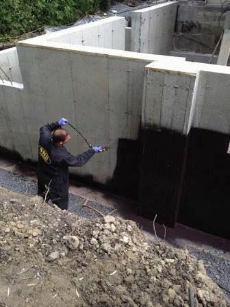 Как сделать гидроизоляцию уже построенного дома 475