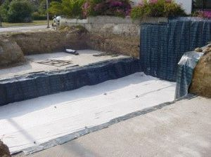 Гидроизоляция фундамента каркасного дома