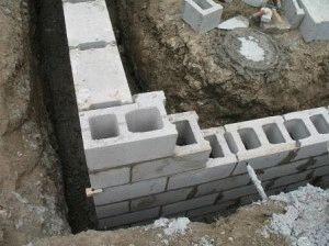 Строительство ФБС фундамента