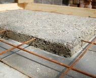 Поэтапная стяжка фундамента