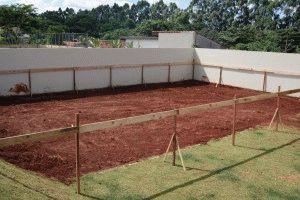 Ограждение участка под строительство