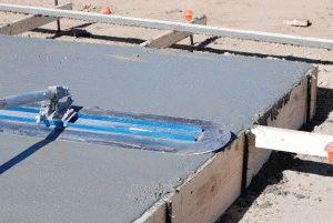 Устройство бетонной подушки