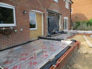 Строительство веранды вплотную к дому
