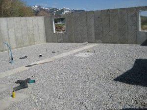 Бутово-бетонный фундамент