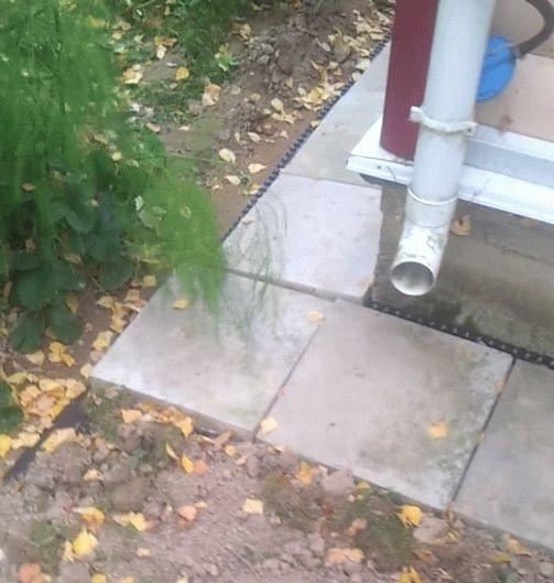465Как сделать отвод воды от отмостки