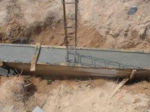 Затвердение бетона в опалубке
