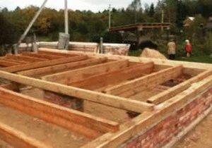 Устройство фундамента деревянного дома