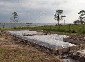 Просушка бетона