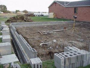 Строительство основания для дома