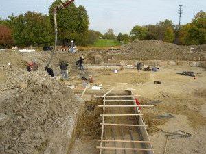 Строительство ленточного фундамента - опалубка