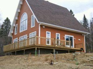 Свайный фундамент для двухэтажного дома