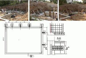 Проектирование и разметка фундамента