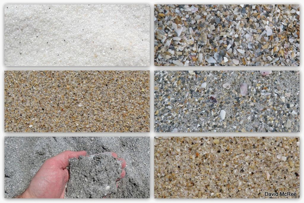 виды строительного песка