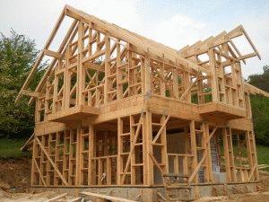 Дом из бруса на фундаменте