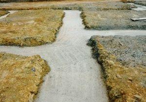 Застывание бетонной смеси