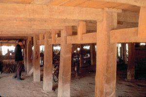 Расстояние между столбами
