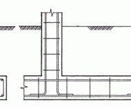 Конструкция армирования ленточного фундамента