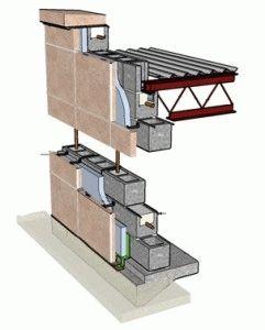 Конструкция блочного строительства
