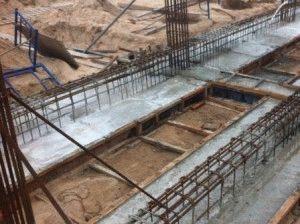 Армирование ленточного фундамента под каркасный дом