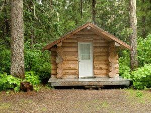 Небольшой дом из бруса