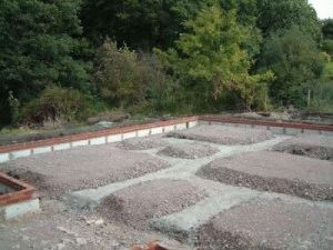 Устройство плитного фундамента на участке