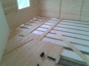 Использование полистирола в деревянном доме